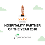 Precedence Technologies Makes 2018 Best Hospitality Partner of the year in Middle East & Turkey !!!!